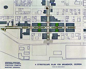 A Streetscape Plan for Brunswick, Georgia