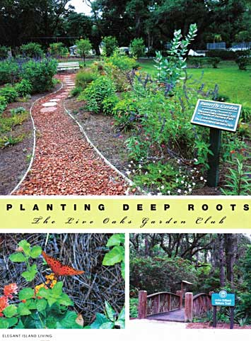 Planting Deep Roots—The Live Oaks Garden Club
