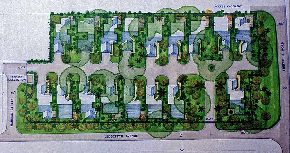 Frederica Road Site Design