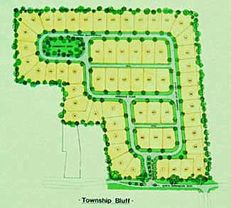 Township Bluff site plan—Island Living on the Georgia coast